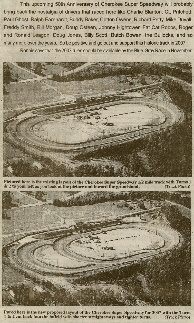 News Clipping - Track Outline